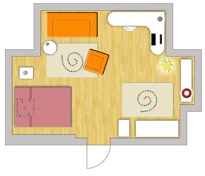 Online wohnberatung for Jugendzimmer zeichnung